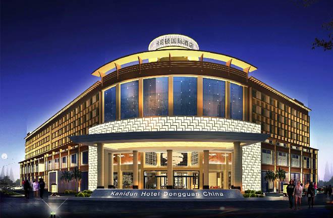東莞·卡尼頓國際酒店外觀效果圖